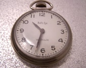 Vintage Westclox Bull's Eye Pocket Watch PN5123