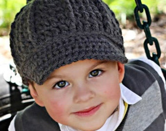 Newsboy Hat for kids to adults, Sizes 5T-Preeteen, and Teen-Adult
