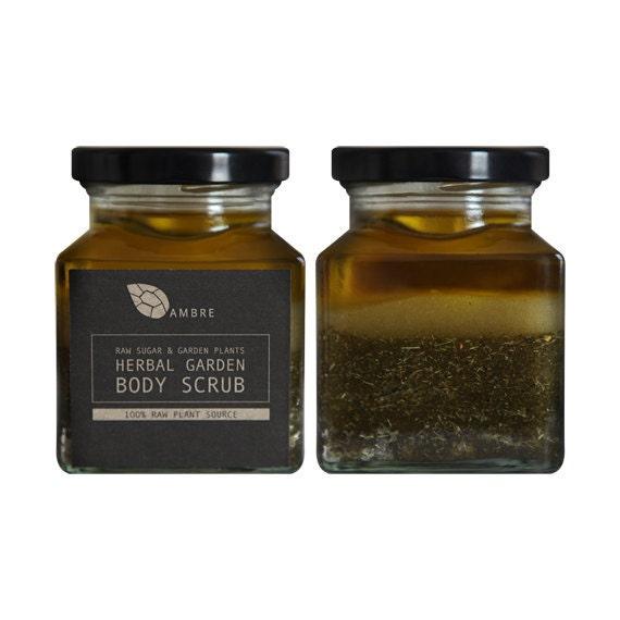 Herbal garden body scrub 200ml