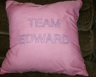 Twilight Inspired, Team Edward, Throw Pillow