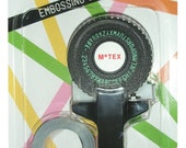 Retro OH MY Motex handheld embossing label maker (E101 BLACK)