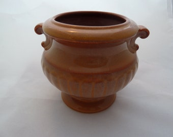 """Antique Villeroy and Boch small vase 1874-1909 Mercury Ink stamp 3,5"""""""