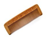 Wood Hair Comb Wooden Hair Combs Hand Wood Carving Hand Carving Wooden Hair Comb MariyaArts