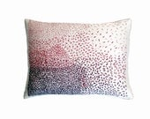 FREE SHIPMENT- Rag stitch cushion