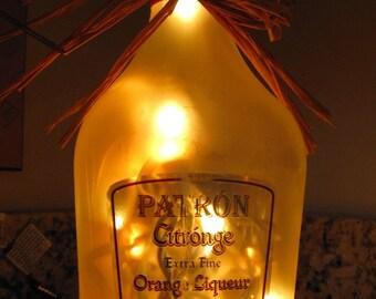 Lighted Bottle Patron Citronage