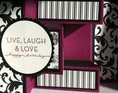 Live, Laugh, Love, Happy Birthday