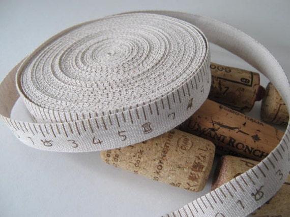 2 meters zakka ribbon, style measuring tape