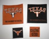 University of Texas Longhorns Iron-On Appliques