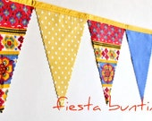 Fiesta - Bunting Banner - Free Shipping US and Canada