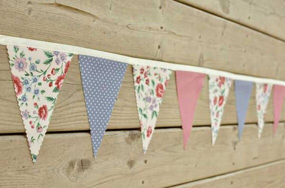 Timeless  - Vintage Bunting Banner - Free Shipping US and Canada