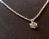 RESERVED--Rose Pendant Necklace