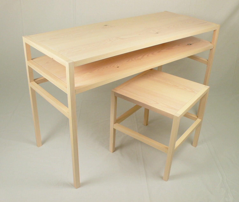 Donald Judd Inspired Parsons Desk