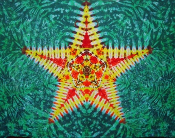 Tie Dye Tapestry ~ 2012 Mandala 015 075