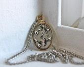 Vintage Anchor Necklace