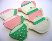 Tea Set Sugar Cookies - 1 Dozen