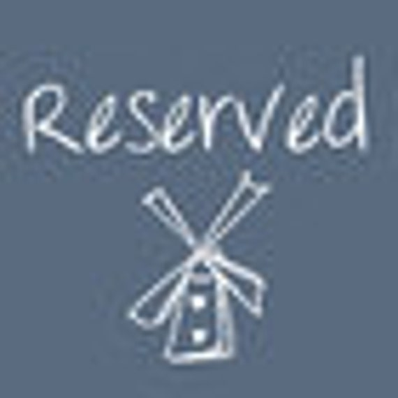 RESERVED for MARIA French Vintage Torchons