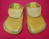 Custom Handmade Double Soled Moose Hide Moccasins-Sizes up to Mens 10 or Womens 12, Order Here