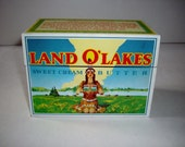 Vintage Recipe Box Land O Lakes Recipes 1970s