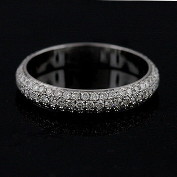 Platinum wedding bands eternity
