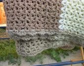 Brown and Cream Lapghan