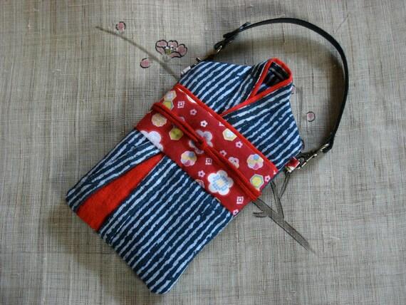 KImono-Style Gadget pouch, cell phone case, ipod case, camera case