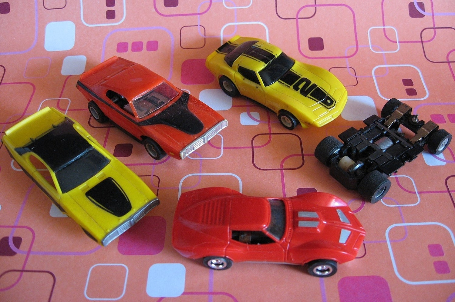 Tyco Slot Cars: Vintage Toy SLOT CARS Mostly Tyco HO Scale 1970's