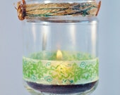 """8 Hanging Candle Jars """"Woodland"""", Wedding Lighting, by Green Orchid Design Studio"""