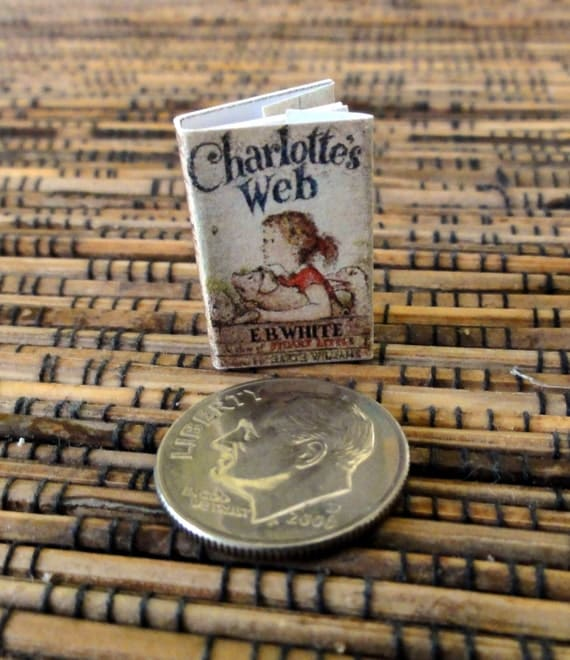 "Teeny Tiny ""Charlotte's Web"" Miniature Book"