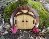 Fairy Door, Gnome Door, Hobbit Door, Elf Door, Troll Door, Miniature Garden Round Sun Style Door.