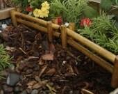 Miniature Garden Fence Pair Goes With A Fairy Door, Gnome Door, Hobbit Door, Elf Door, Troll Door.