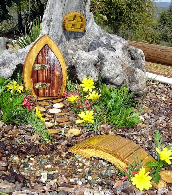 Gnome Garden: Items Similar To Miniature Garden, Fairy Door, Gnome Door