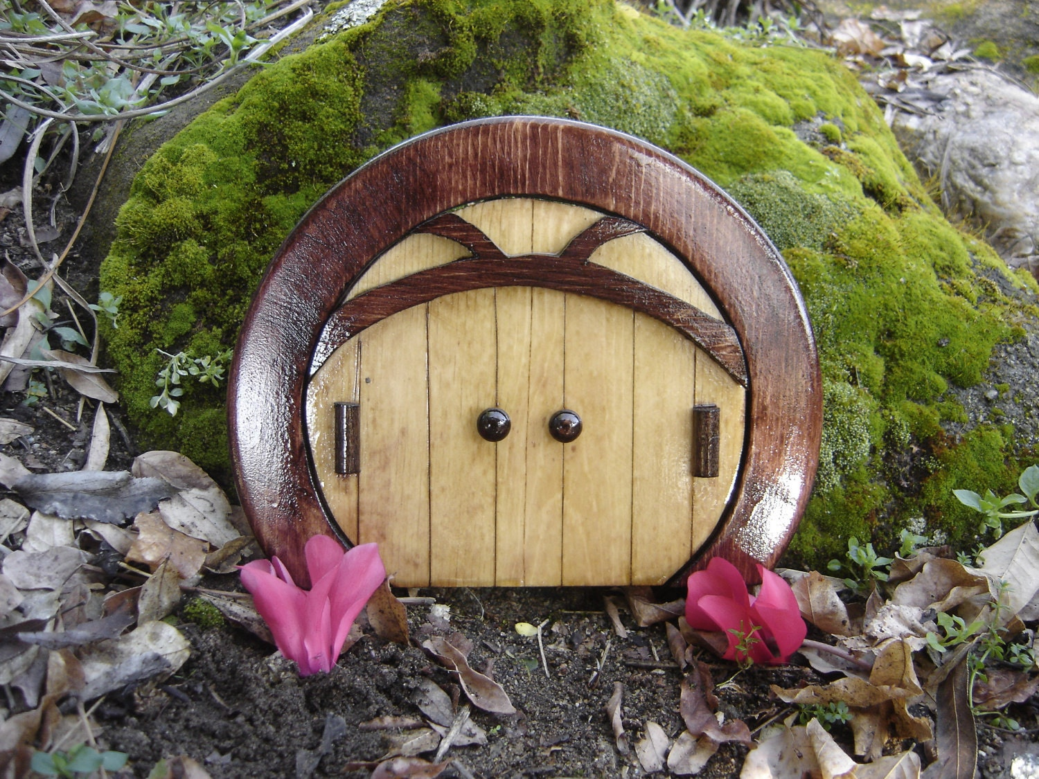 Items similar to fairy door gnome door hobbit door elf for Elf fairy doors