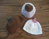Baby Boob Beanies  for 9 months and older