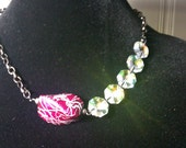 Pink Power  Necklace with lots of Sparkle