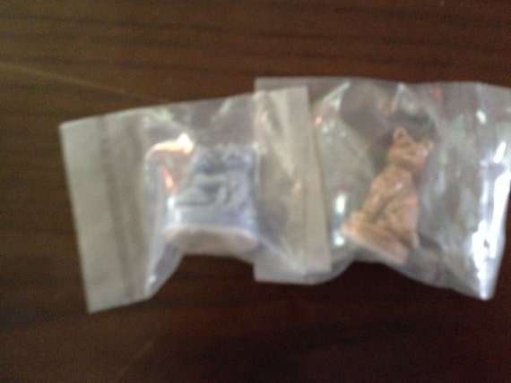 Vintage Wade Figurines from Red Rose Tea New in Package Kittens Kitty Cat
