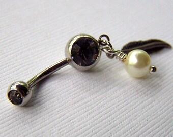 Dreamcatcher Belly Ring Bellybutton Ring Piercing Dream Catcher Body Jewelry