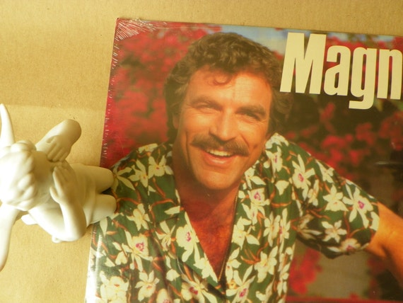 Yummy Magnum PI Calendar 1989 Unopened but drooled on a bit