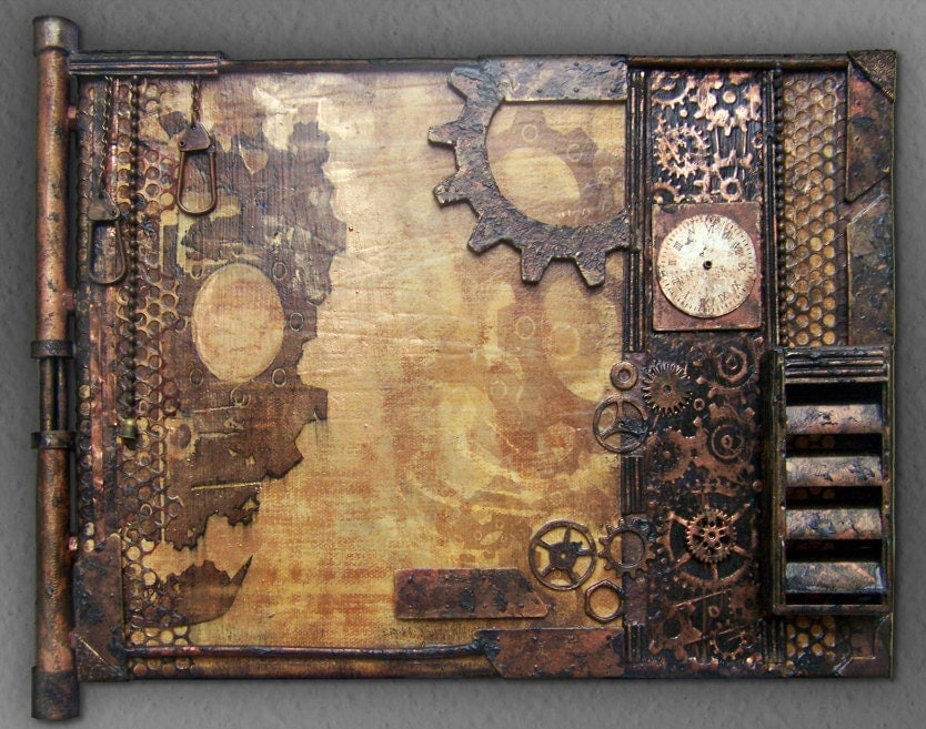 Steampunk Wall Art Home Decor