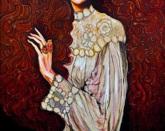 Lily - ORIGINAL painting
