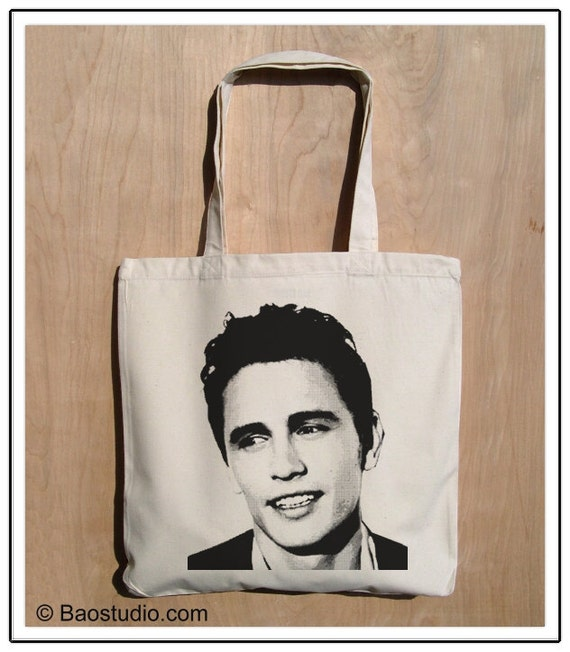 Buy3 Get1 Free - James Franco - Eco Friendly Cotton Canvas Tote Bag