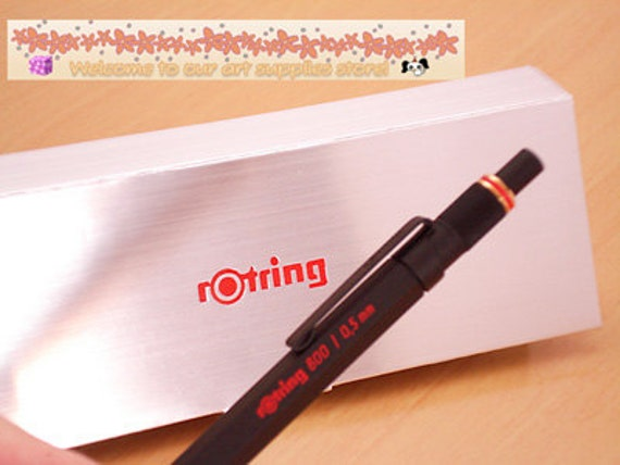 Rotring 800 Mechanical Pencil 0.5mm Black With Gift Box for Rotring Brand New