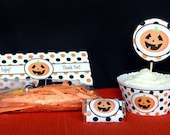 Halloween printable Cupca...