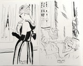 Breakfast At Tiffany's coloring book