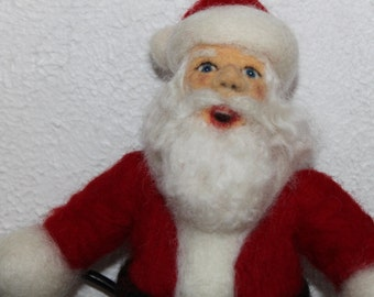 Needle Felted Santa Claus