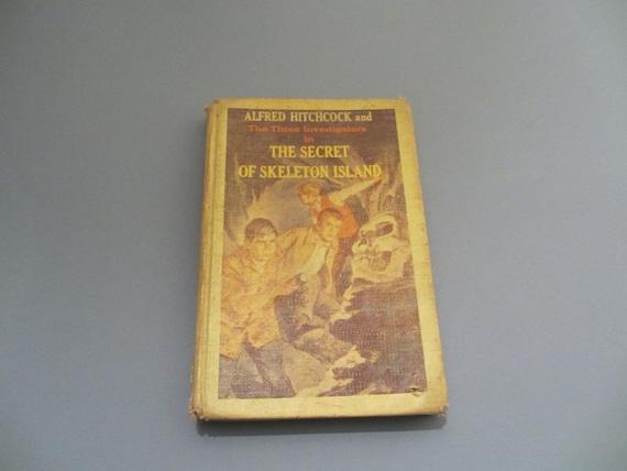 Skeleton Island Hollow Book