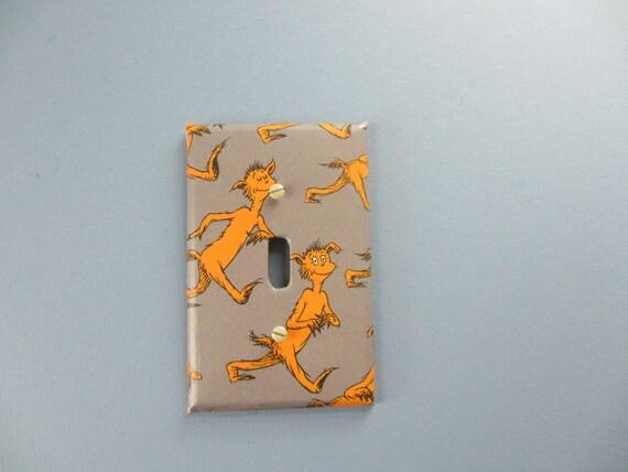 Dr.Seuss Foot Book Switch Plate