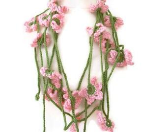 Floral scarf ,fashion,unique,no.6