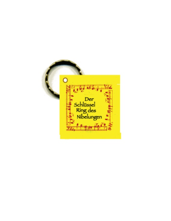 German Ring Keyring