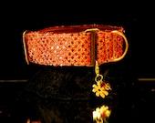Red Rain Martingale Collar (item 202)