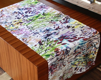 Runner,Table top ,Home decor,LINEN ,eco friendly